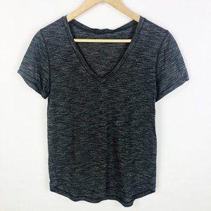 Lululemon V-Neck Short Sleeve Tee Top Shirt